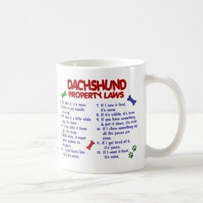 DACHSHUND PL2 COFFEE MUG
