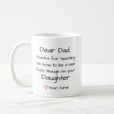 Dad Personalized Coffee Mug