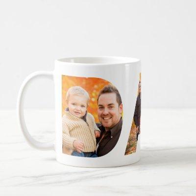 Dad Photo Collage Coffee Mug