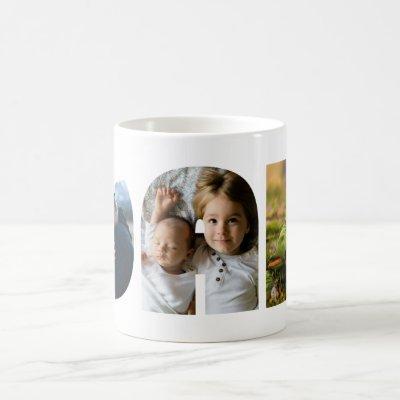 Dad Photo Custom Personalized Photo Coffee Mug