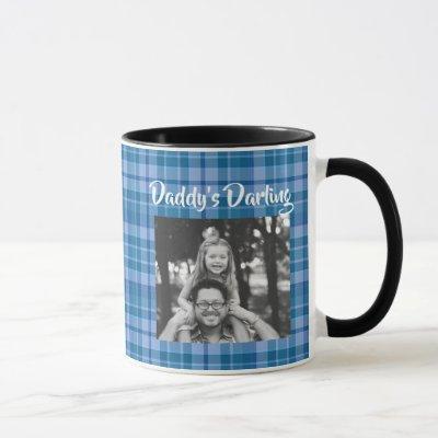 Daddy's Darling Father Daughter Gift Mug