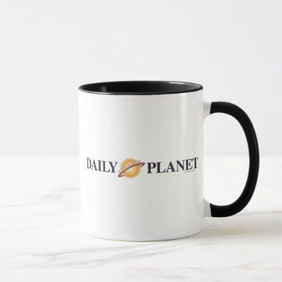 Daily Planet Logo Mug