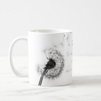 Dandelion Inspiration Classic Mug