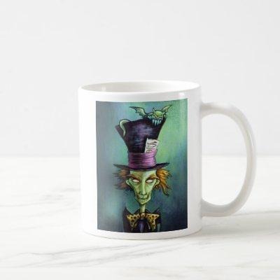 Dark Mad Hatter from Alice in Wonderland Coffee Mug