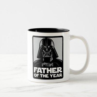 Darth Vader Comic | Father of the Year Two-Tone Coffee Mug