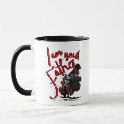 """Darth Vader """"I Am Your Father"""" Illustration Mug"""