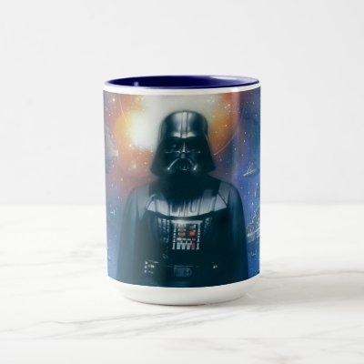 Darth Vader Imperial Forces Illustration Mug