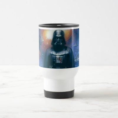 Darth Vader Imperial Forces Illustration Travel Mug
