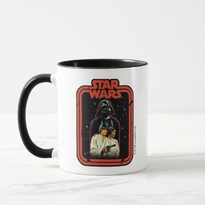 Darth Vader, Luke, & Leia Star Wars Framed Graphic Mug