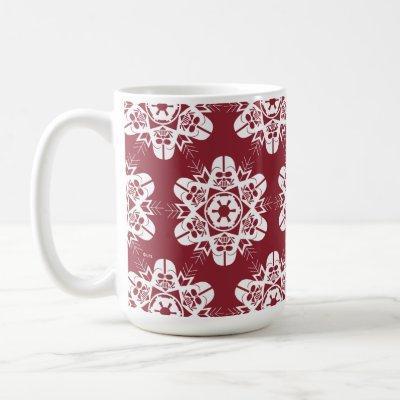 Darth Vader Snowflake Design Coffee Mug