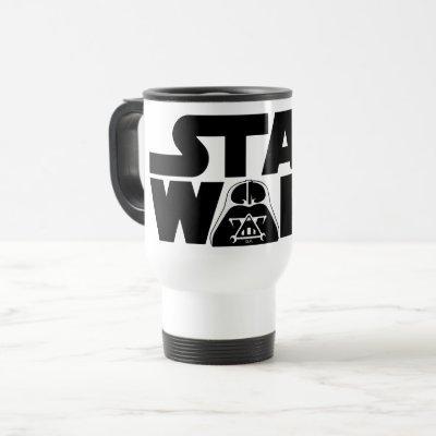 Darth Vader Star Wars Logo Travel Mug