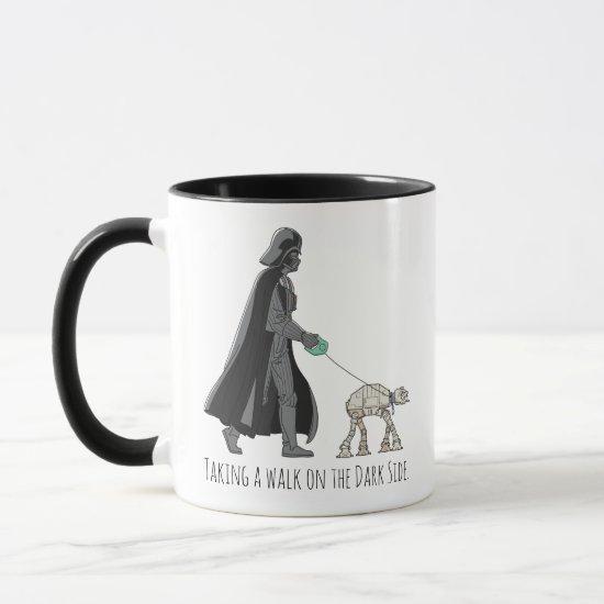 Darth Vader Walking Pet AT-AT Mug