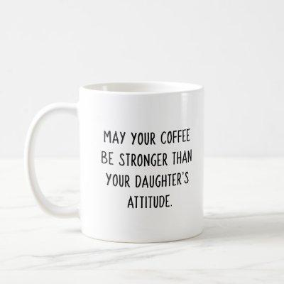 Daughter's Attitude Coffee Mug (Pink Girl)