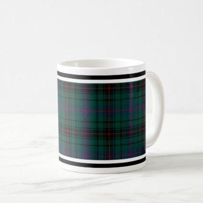 Davidson Clan Tartan Coffee Mug