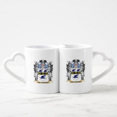 De-Giorgis Coat of Arms - Family Crest Coffee Mug Set