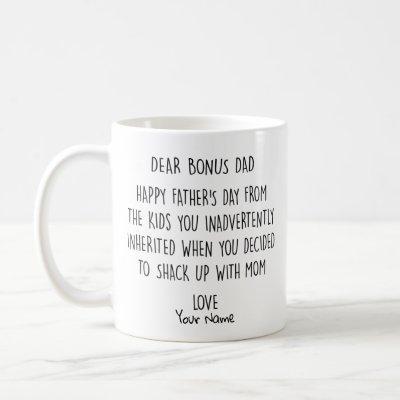 Dear Bonus Dad Happy Father's Day 2020 Coffee Mug