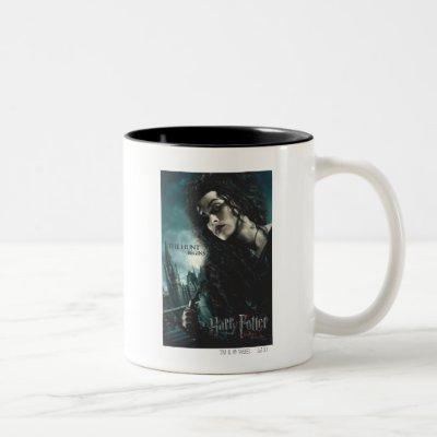 Deathly Hallows - Bellatrix Lestrange 2 Two-Tone Coffee Mug