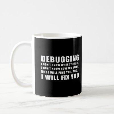 Debugging Coffee Mug