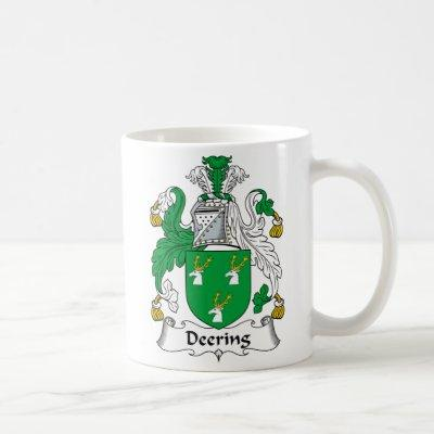 Deering Family Crest Coffee Mug