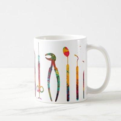 Dentist Tools Coffee Mug