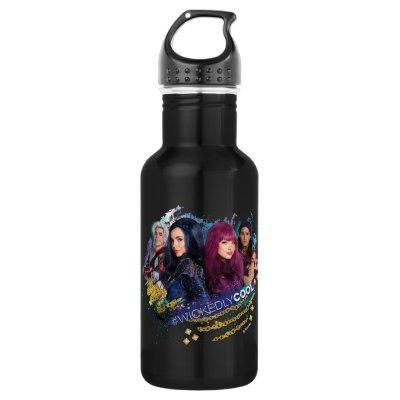 Descendants   Wickedly Cool Best Friends Stainless Steel Water Bottle