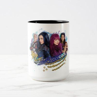 Descendants | Wickedly Cool Best Friends Two-Tone Coffee Mug
