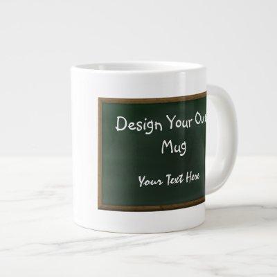 Design Your Own Chalkboard Mug