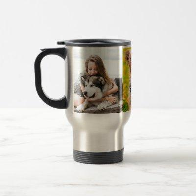 Design Your Own Pet Photo Collage Mug