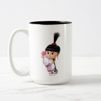 Despicable Me   Agnes & Fluffy the Unicorn Two-Tone Coffee Mug