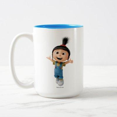 Despicable Me   Agnes Two-Tone Coffee Mug