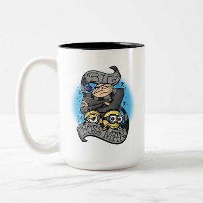 Despicable Me | Big Boss Man Gru & Minions Two-Tone Coffee Mug