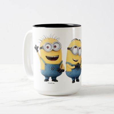 Despicable Me   Minions Group Two-Tone Coffee Mug