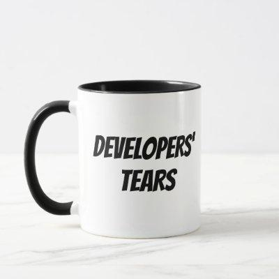 Developers' Tears Mug