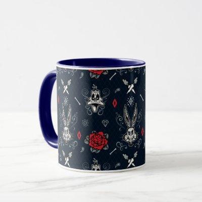 Día De Los Muertos BUGS BUNNY™ & DAFFY DUCK™ Tile Mug