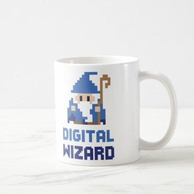 Digital Wizard Coffee Mug