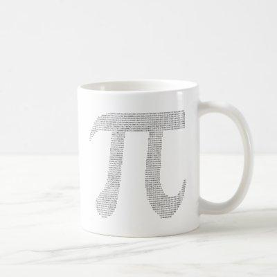 Digits of Pi Coffee Mug