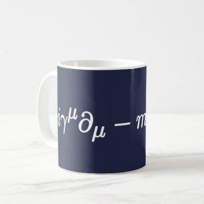 Dirac Equation Science Mathematical Equations Mug