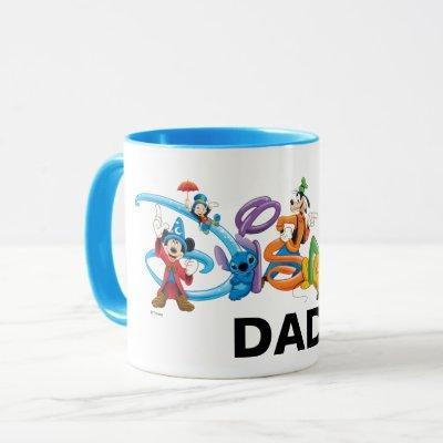 Disney Dad   Mickey and Friends Mug