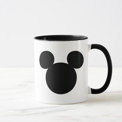 Disney Logo | Black Mickey Icon Mug
