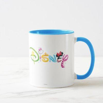 Disney Logo | Girl Characters Mug