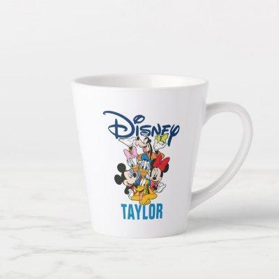 Disney | Mickey & Friends - Family Vacation Latte Mug