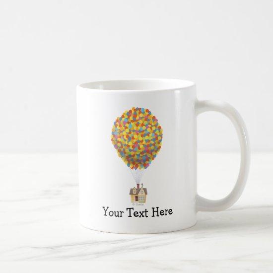 Disney Pixar UP   Balloon House Pastel Coffee Mug