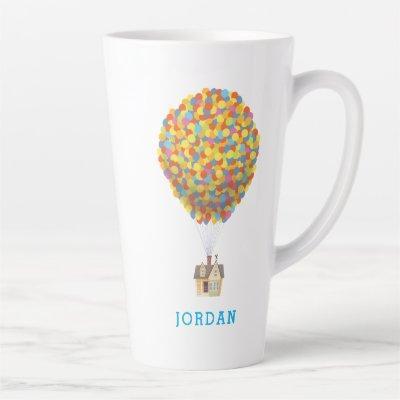 Disney Pixar UP | Balloon House Pastel Latte Mug