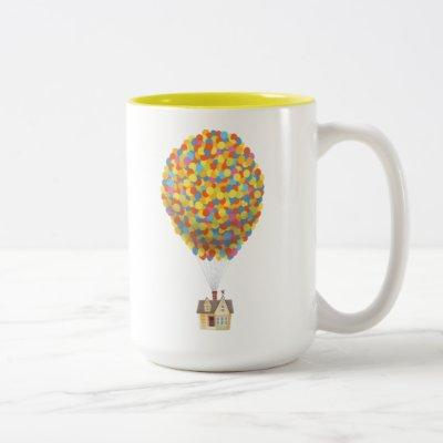 Disney Pixar UP | Balloon House Pastel Two-Tone Coffee Mug