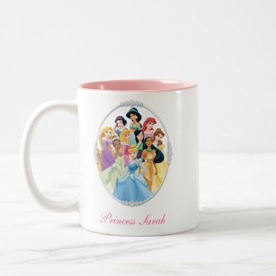 Disney Princess   Cinderella Featured Center Two-Tone Coffee Mug