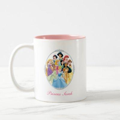 Disney Princess | Cinderella Featured Center Two-Tone Coffee Mug