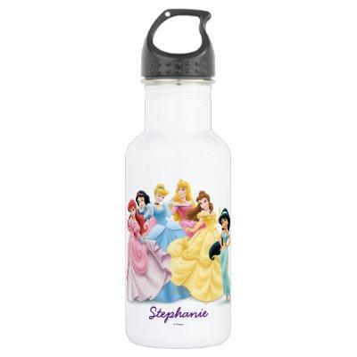 Disney Princess   Dressed to Impress Stainless Steel Water Bottle