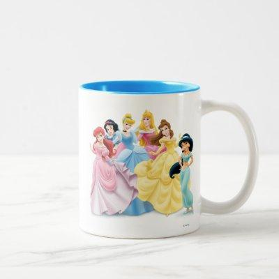 Disney Princess | Dressed to Impress Two-Tone Coffee Mug