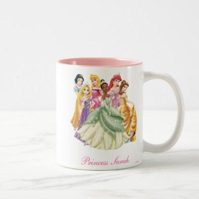 Disney Princess | Tiana Featured Center Two-Tone Coffee Mug