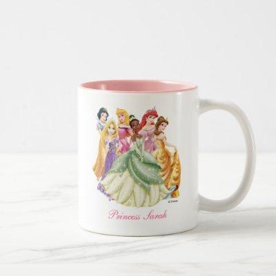 Disney Princess | Tiana Featured Center Two-Tone Coffee Mug
